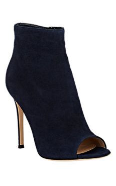 Suede Lais Booties