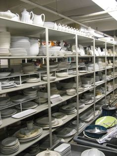 A Tour of the Food Network Prop House  What I wouldn't give...