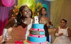 Inspire-se na festa colorida de Juliana Ribeiro - 15 anos - CAPRICHO