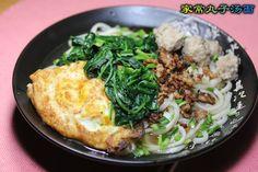 私房小菜:家常丸子汤面 - 由卖紫色布的发表 - 文学城