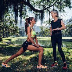 #BodyByIza New challenge💪👊💥 So inspired by all the athletes in Rio and after meeting with @joanbenoitsamuelson, I'm ready to train and run my fastest 10K in Paris on Oct 2! Advice from the first-ever women's marathon champion: there is no finish line so let's get to it! Novo desafio #BodyByIza 👊💥 Inspirada por todos os atletas no Rio durante as Olimpíadas e depois de conhecer @joanbenoitsamuelson, estou pronta para treinar e correr meus 10k mais rápidos em paris em 02 de outubro…