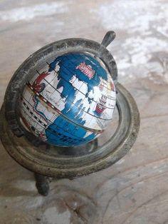 Vintage c1950s world globe german pencil sharpener for sale on home globe artmap gumiabroncs Gallery