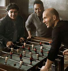 Maradona, Pele, Zidane