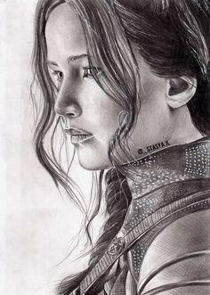 Katniss Everdeen by stasya-jl on @DeviantArt