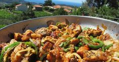 Greek Recipes, Kung Pao Chicken, Food And Drink, Beef, Meals, Cooking, Ethnic Recipes, Meat, Kitchen