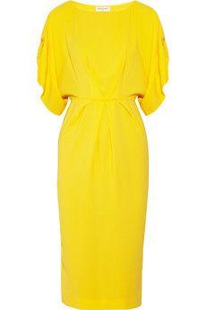 Vionnet Stretch-crepe dress   NET-A-PORTER
