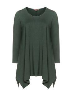 Longshirt aus Jersey von Exelle. Jetzt entdecken: http://www.navabi.de/shirts-exelle-longshirt-aus-jersey-dunkel-gruen-23105-0900.html?utm_source=pinterest&utm_medium=social-media&utm_campaign=pin-it