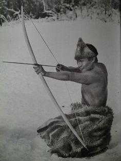 Selknam American Spirit, Native American, Archery, West Coast, South America, Mona Lisa, Grandchildren, Patagonia, Men