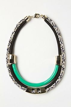 Statement necklace, would look amazing with white t-shirt, blazer & skinny jeans