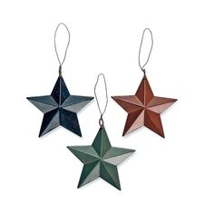 Barn Star Ornaments - OrientalTrading.com