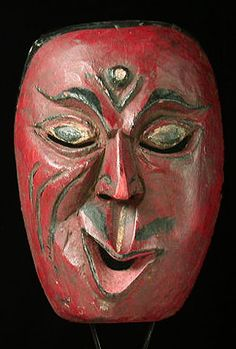 Oceanic - Character mask from Lombok, Indonesia