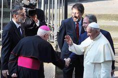 Visita histórica del Papa a Cristianos Evangélicos