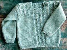 Gratis Patrón suéter Knitting for Babies (VIDEO) - Craftfoxes