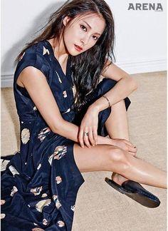 Former KARA member Gyuri exudes the aura of an actress for 'Arena Homme Plus' | allkpop.com