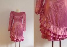 80s LOUIS FERAUD Vintage Dress/ Party Dress/ by valleydollsvintage, €49.00
