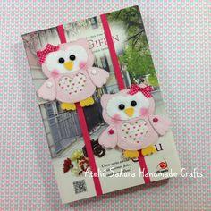 Marca página Corujinha Owl bookmark