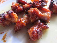 con2sabor: Pollo con salsa de soja, miel y limón