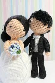 Resultado de imagen para amigurumi wedding couple pattern