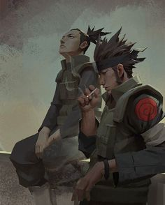 Shikamaru and Asuma