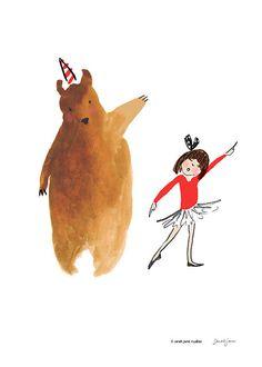 Sarah Jane Studios - Dancing Bear