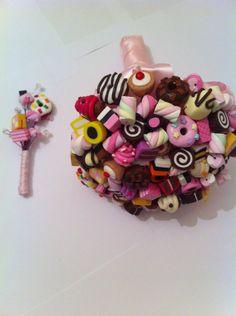 Bouquet de mariée candy