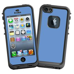 Periwinkle #Skin  for the #lifeproof #iphone5 and #iphone5s #Case by #Skinzy.com