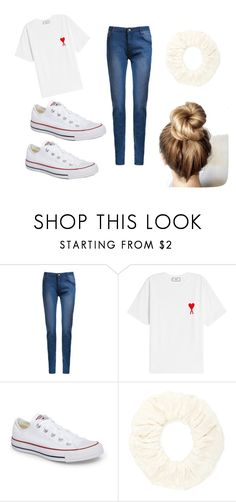 """Goodwill shopping"" by anjaofficial on Polyvore featuring AMI, Converse and Forever 21"