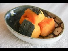 ▶ Kabocha no Nimono (Simmered Pumpkin) Recipe - Japanese Cooking 101 - YouTube