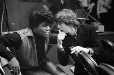 James Brown e Mick Jagger