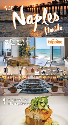 Naples is perfect for girls' trips! Find the perfect oceanfront rental on Tripping.com, and then head to the nearby Miromar Outlets to shop 'til you drop. Finally, enjoy the best of Naples dining at the Bay House Restaurant. No matter your style, budget, and schedule, Tripping.com has a Florida beach house for you!