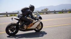 First Ride: 2014 Mission RS. A game-changing electric tour de force.