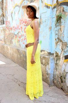 Hey Cute - Por Karla Lopes.: {moda} Look da Ká: amor por amarelo