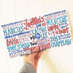 British Youtubers Collage drawing 2014 by Miasdrawings on Etsy