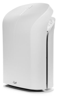 The Rabbit Air BioGS 2.0 ultra quiet air purifier features a more holistic approach, cutting back on light and sound pollution generated by the air purifier to ensure that while it takes pollutants from the environment, it leaves nothing but clean air in return.