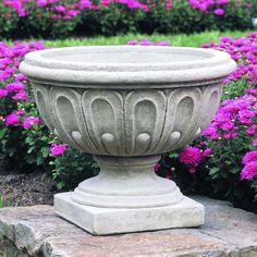 Longwood Round Urn Planter | Wayfair