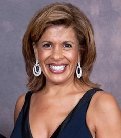 """Broadcast journalist Hoda Kotb fought breast cancer in 2007 and underwent mastectomy surgery. """"I do think cancer gave me the gift of … being fearless. Cancer gave me the headline, you know, you can't scare me."""
