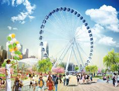 Navy Pier's Newer, Taller Ferris Wheel is Officially On Its Way - Coming Attractions - Curbed Chicago