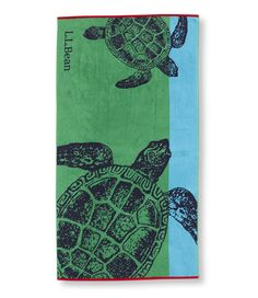Free Shipping. Discover the features of our Seaside Beach Towel, Turtles at L.L.Bean. Our high qualityHome Goods are backed by a 100% satisfaction guarantee.