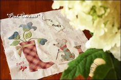 Patchwork *Pink Caramel*: Quilt Me Club 2013 part 4