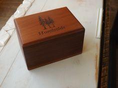 Reclaimed rewood box
