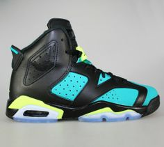 Air Jordan 6 Retro (GS) - Turbo Green
