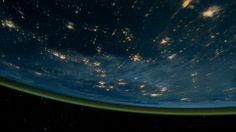 Knate Myers - View from the International Space Station at Night   gif by FD(viaflyngdream)  ______See more inspiring art on:♥ iheartmyart   facebook   twitter   instagram   flickr   mail list   pinterest   soundcloudSee more about space on iheartmyart.Discover more gifs on iheartmyart.