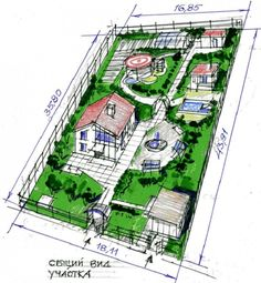Advice on everything gardening Landscape Design Plans, Garden Design Plans, Home Design Plans, Architecture Presentation Board, Concept Architecture, Small Garden Plans, Framing Construction, Farm Layout, Farm Plans