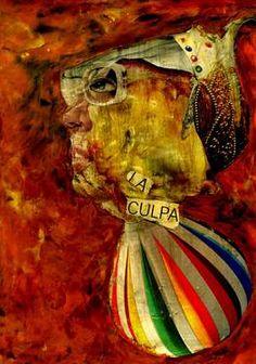 "Saatchi Art Artist CARMEN LUNA; Collage, ""48-Tesoros del COLLAGE."" #art http://www.saatchiart.com/art-collection/Collage/Tesoros-del-COLLAGE/71968/78776/view"