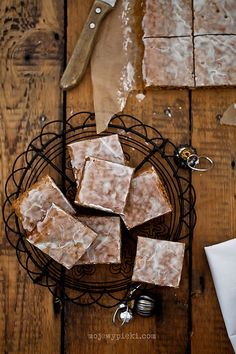 Basler Leckerli. Traditional iced gingerbread. My mother made this when I was a child, and I absolutely loved it.