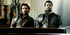 """""""I'm not obsessed with The Musketeers. Not in the least."""" <--- haha great gif for that statement <3"""