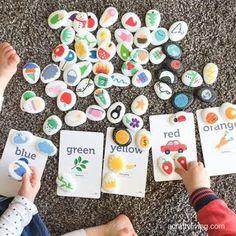 Aprendiendo con Montessori: 22 ACTIVIDADES HECHAS CON PIEDRAS. Los diys más ingeniosos