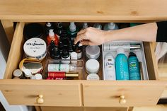 The Ultimate Guide to Organizing Your Beauty Products | allure.com