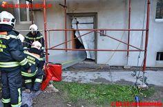 BF Wien: 13 Verletzte nach Kellerbrand in Floridsdorfer Wohnhausanlage #feuerwehr #firemen #firefighter #fire #vienna