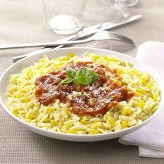Douceur de blé sauce tomate-basilic de Tipiak